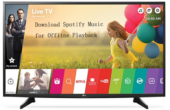 download spotify to lg smart tv