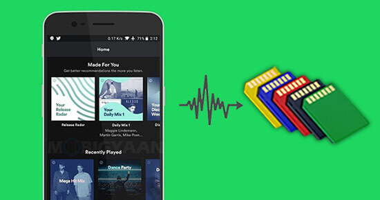 Spotify Premium Karte.How To Save Spotify Music To Sd Card