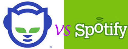 napster vs spotify