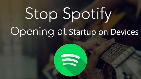 stop spotify from opening on startup