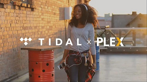 play tidal on plex