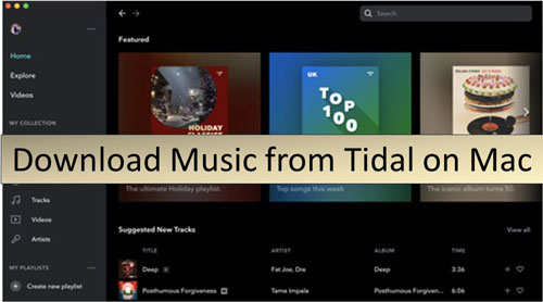 download music from tidal on mac