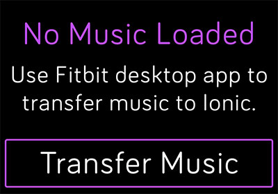 transfer audiobook to fitbit