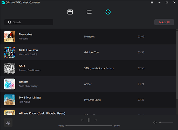 load converted tidal music