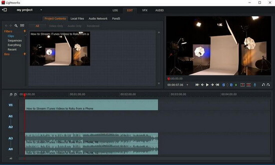 Editing movie files