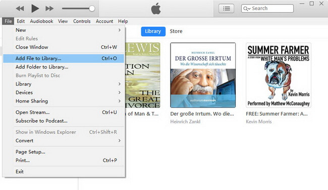 import audible to itunes