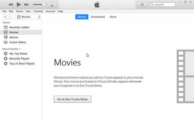 launch iTunes